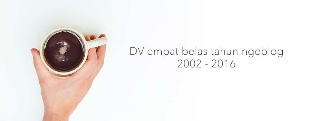 14 tahun ngeblog